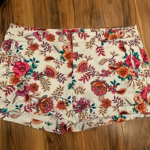 Ana multicolored floral shorts 18